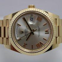 Rolex Day-Date 40 Geelgoud 40mm Wit Nederland, Rijnsburg