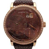 A. Lange & Söhne Little Lange 1 pre-owned Brown Leather
