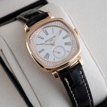 Patek Philippe Gondolo Rose gold 30mm Silver United States of America, New Jersey, Englewood