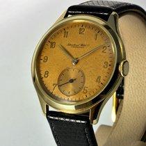 IWC Sarı altın 37mm Manuel kurmalı ikinci el