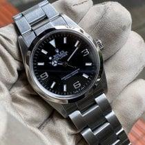 Rolex Explorer Steel 36mm Black Arabic numerals United Kingdom, HAYES