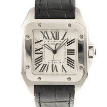 Cartier Santos 100 2656 Very good Steel 37.5mm Automatic