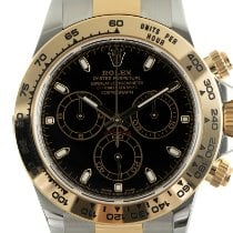 Rolex Daytona Gold/Steel 40mm Black
