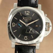 Panerai Luminor 1950 3 Days GMT Power Reserve Automatic Stahl 44mm Schwarz Deutschland, Chemnitz
