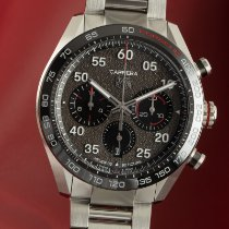 TAG Heuer Carrera Porsche Chronograph Special Edition new 2021 Automatic Chronograph Watch with original box and original papers CBN2A1F