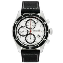 Eberhard & Co. new Automatic 43mm Steel Sapphire crystal