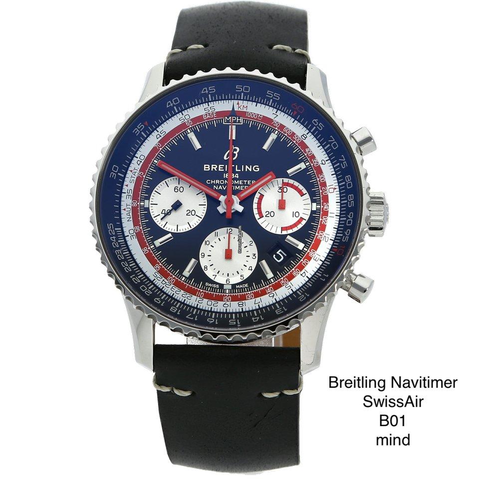 Breitling Navitimer 1 B01 Chronograph 43 AB01211B1B1X2 2019 tweedehands