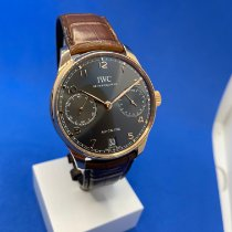IWC Red gold Automatic Grey Arabic numerals 42.3mm new Portuguese Automatic