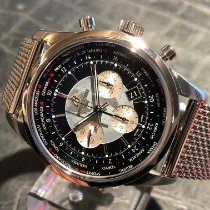 Breitling Transocean Chronograph Unitime new 2019 Automatic Chronograph Watch only AB 0510U4