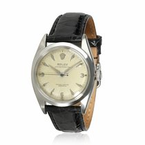 Rolex Oyster Perpetual Acero 34mm Plata
