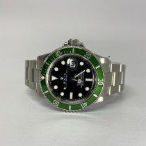 Rolex Submariner Date Steel 40mm Green No numerals United Kingdom, Hampshire