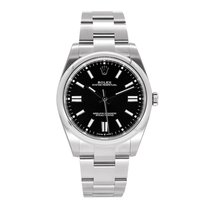 Rolex Oyster Perpetual Steel 41mm Black No numerals South Africa, Centurion