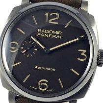 Panerai Radiomir 1940 3 Days Automatic Титан 45mm Коричневый Aрабские