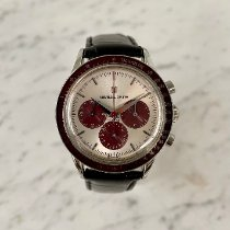 Universal Genève Compax new 1992 Manual winding Chronograph Watch with original box and original papers 884.485