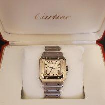 Cartier Santos Galbée Сталь Cеребро Римские