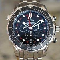 Omega Seamaster Diver 300 M Steel 44mm Black No numerals United States of America, Massachusetts, Boston