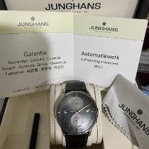 Junghans Meister Agenda Сталь 40.4mm Cерый Без цифр