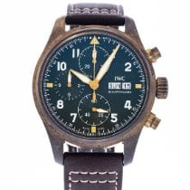 IWC Titanium Automatic Green 41mm pre-owned Pilot