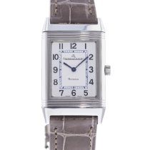 Jaeger-LeCoultre Reverso Classique pre-owned 23mm Silver Leather