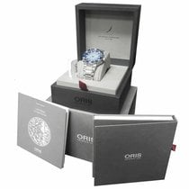 Oris Steel Automatic Blue 43.5mm new Aquis Date