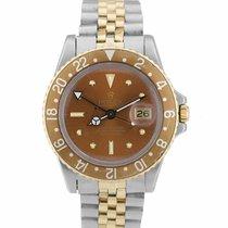 Rolex GMT-Master Gold/Steel 40mm Brown United States of America, New York, Massapequa Park