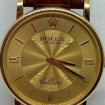 Rolex Cellini Or jaune 32mm Or Romains