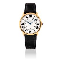Cartier Ronde Louis Cartier Rose gold 33mm Silver United States of America, New York, New York