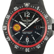 Breitling Quartz Black 45mm new Colt Skyracer