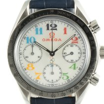 Omega Speedmaster Ladies Chronograph Steel 36mm Mother of pearl