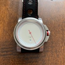 Schaumburg Steel 46mm Automatic pre-owned United States of America, Texas, Sugar Land
