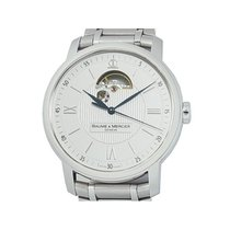 Baume & Mercier Steel 42mm Automatic MOA08833 pre-owned