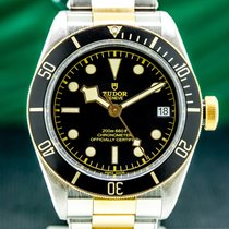 Tudor 79733N Steel Black Bay S&G 41mm