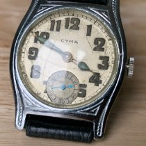 Cyma Steel 30mm Manual winding pre-owned United States of America, New Jersey, Upper Saddle River