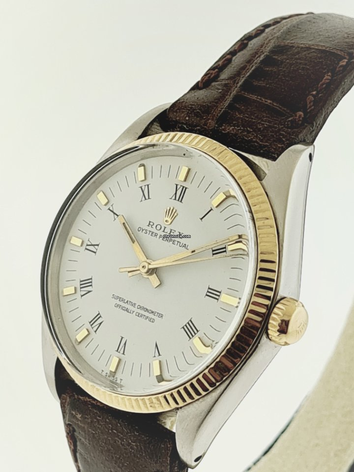 Rolex Oyster Perpetual 34 1005 1966 usados