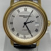 Frederique Constant Classics Automatic pre-owned 40mm Silver Date Leather