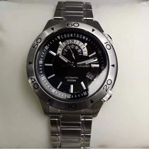 Seiko Superior Steel 45mmmm Black No numerals