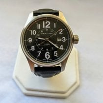 Hamilton Khaki Field Officer Steel 44mm Black United States of America, Hawaii, Honolulu