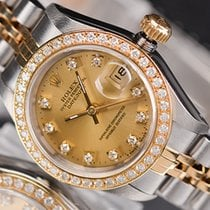 Rolex Gold/Steel 26mm Automatic 69173 pre-owned