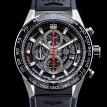 TAG Heuer Carrera Calibre HEUER 01 Steel 43mm Arabic numerals United States of America, Massachusetts, Boston