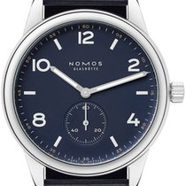 NOMOS Steel 40mm Automatic 753.s2 Navy Blue 175 Edition new United States of America, New York, Airmont