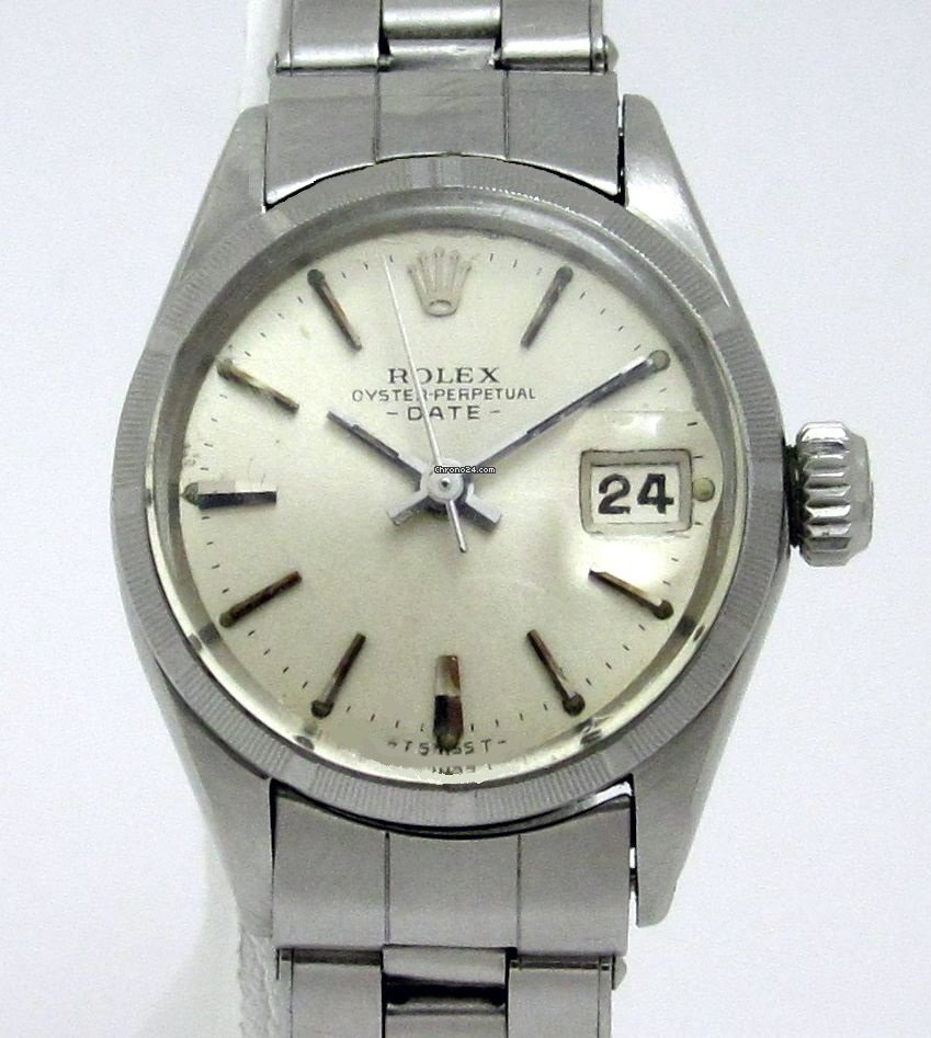 Rolex Oyster Perpetual Lady Date 6519 pre-owned