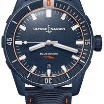 Ulysse Nardin 8163-175LE/93-BLUESHARK Steel 2021 42mm new