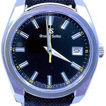 Seiko Grand Seiko Steel 40mm Black No numerals United States of America, Florida