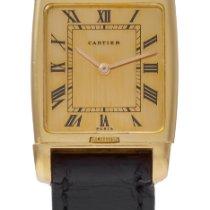 Cartier 3587 Dobry Żółte złoto Manualny Polska, ZIELONA GÓRA