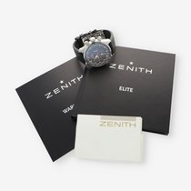 Zenith usados Automático 45mm Gris Cristal de zafiro 20 ATM