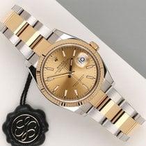 Rolex Datejust 126233 Odlično Zlato/Zeljezo 36mm Automatika