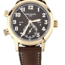 Patek Philippe Travel Time Rose gold 37mm Brown United States of America, Illinois, BUFFALO GROVE