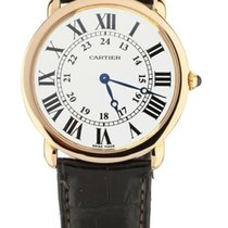 Cartier Ronde Louis Cartier Rose gold 36mm Silver United States of America, Illinois, BUFFALO GROVE