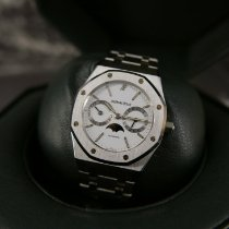Audemars Piguet Royal Oak Day-Date Otel 36mm Alb Fara cifre