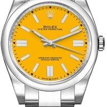 Rolex Oyster Perpetual Steel 41mm Yellow No numerals UAE, Dubai
